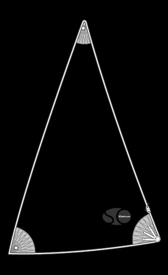 Gennaker croisière pour ALPA 7.40
