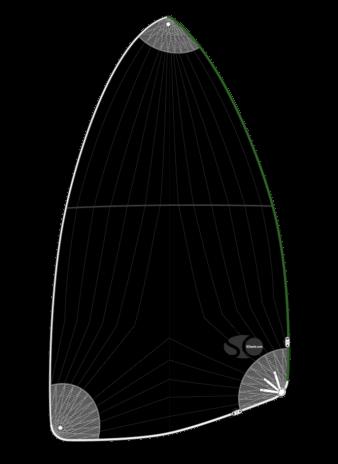 So sails - Spi adaptable Hobie Cat T2