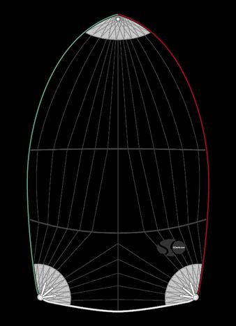 Spi symétrique lourd pour ATLANTA 28 MK I