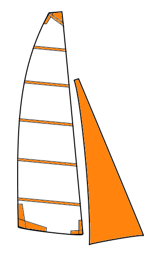 So sails - Grand-voile adaptable Hobie Cat 21
