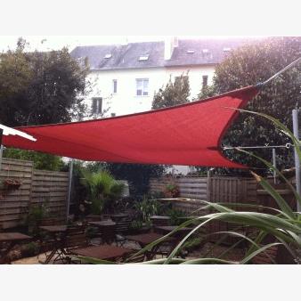 So sails - Voile d'ombrage rectangulaire tissu ajouré
